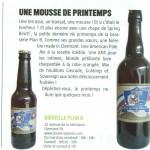 La Spring Binch' - Bière de printemps 2017